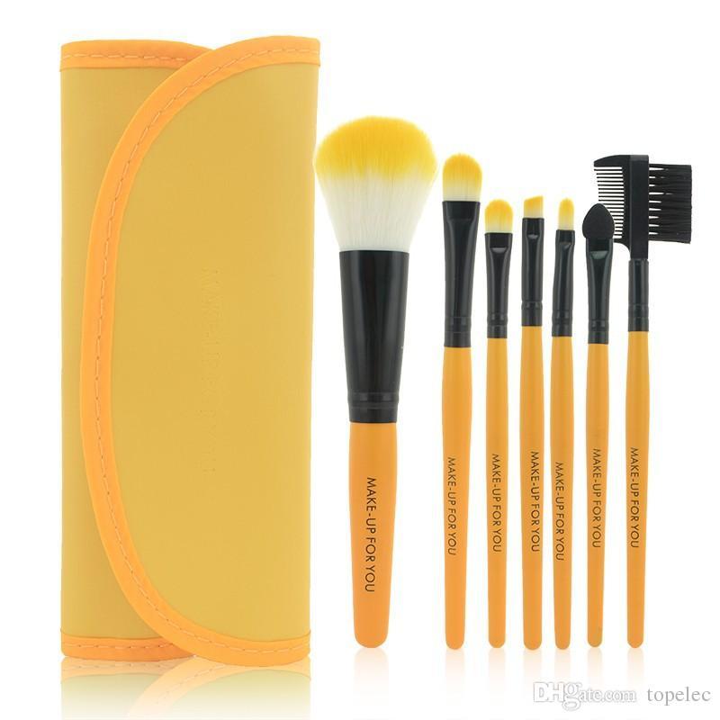 Professional Makeup Brush Set tools Make up Toiletry Kit Wool Brand Make Up Brush Set Case PY