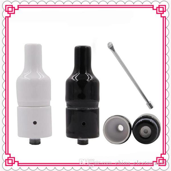 herb dry E Ceramic donut wax vaporizer pen Vapor Donut Wax Atomizer Vaporizer Pen Kit 2200mAh Available CC x vape