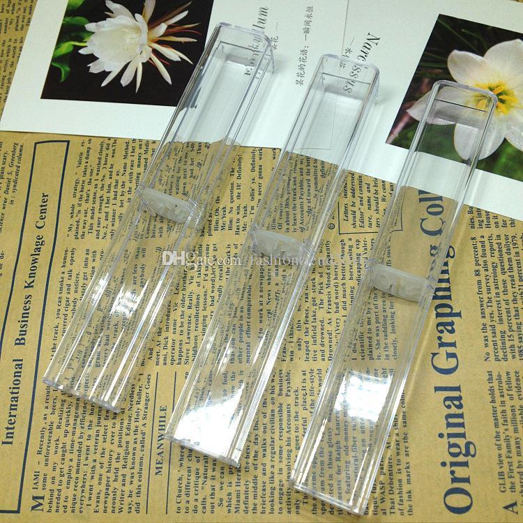 Gift Pens Transparent Box Case For Crystal Pens Ballpoint Pen Fountain Pen Pencil Promotion Retail Boxes Package