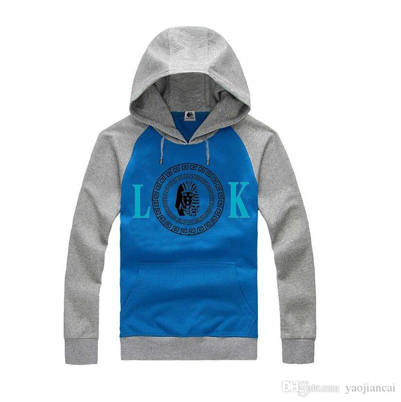 Hip hop cool sportswear last kings LK sweatshirts men winter fleece jacket skateboard graphic clothing last kings hoodies