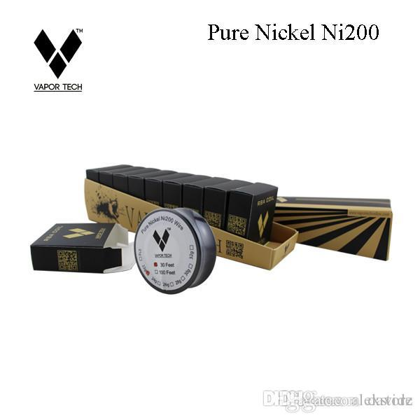 Original pure nickel ni200 wire heating resistance coil wick 30 feet original pure nickel ni200 wire heating resistance coil wick 30 feet spool awg 28 30 32 gauge ecig nichrome dhl heating wire in a toaster high temperature keyboard keysfo Image collections