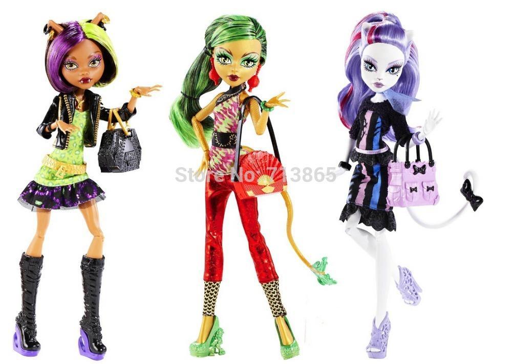 Genuine Original Monster High Dolls New Scaremester Jinafire Long