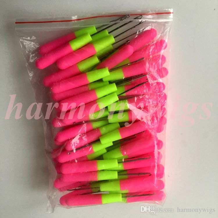 Crochet Aiguilles pour le tissage des cheveux tresses jumbo cheveux extensions de cheveux professionnels outils grande taille 15cm meilleure vente
