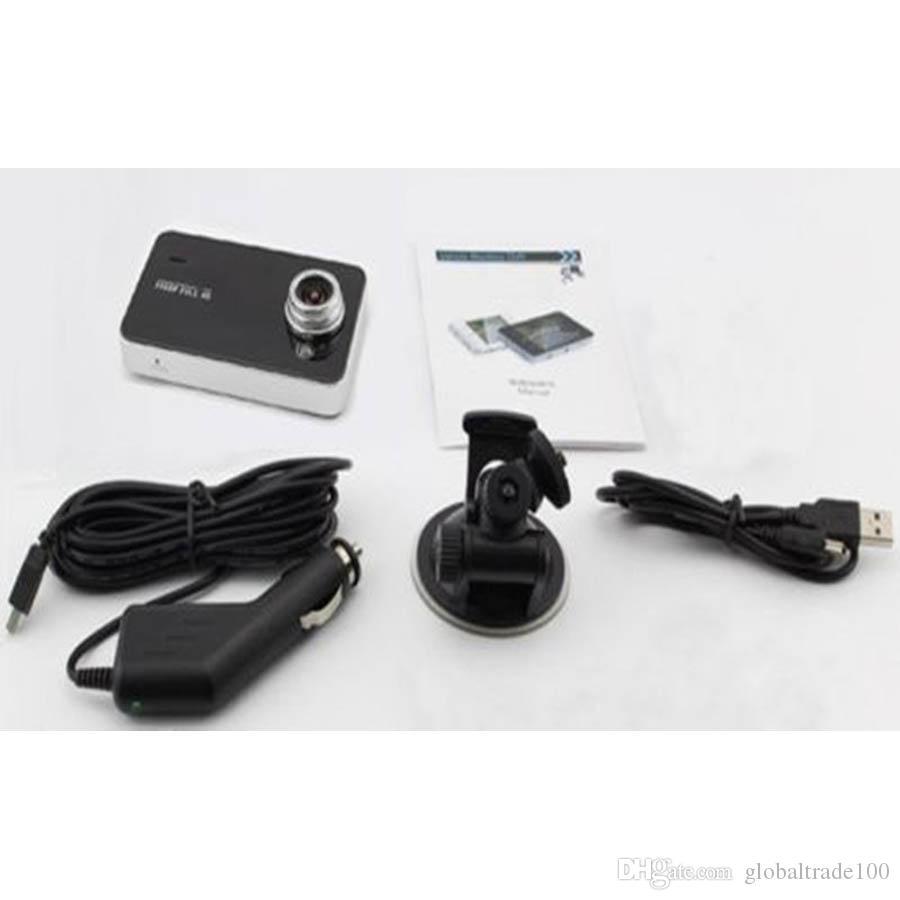 Câmeras DVR do carro Blackbox K6000 HD 720 P 90 Graus Ângulo de 2.4 polegada TFT LCD Gravador de Vídeo de Melhor Qualidade