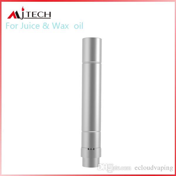 Neueste Original Mjtech 5 S VV Kit 650 mAh Batterie Box Mod Wachsöl 2 in 1 Verdampfer Zerstäuber E Zigarette Vape Kit durch DHL geben