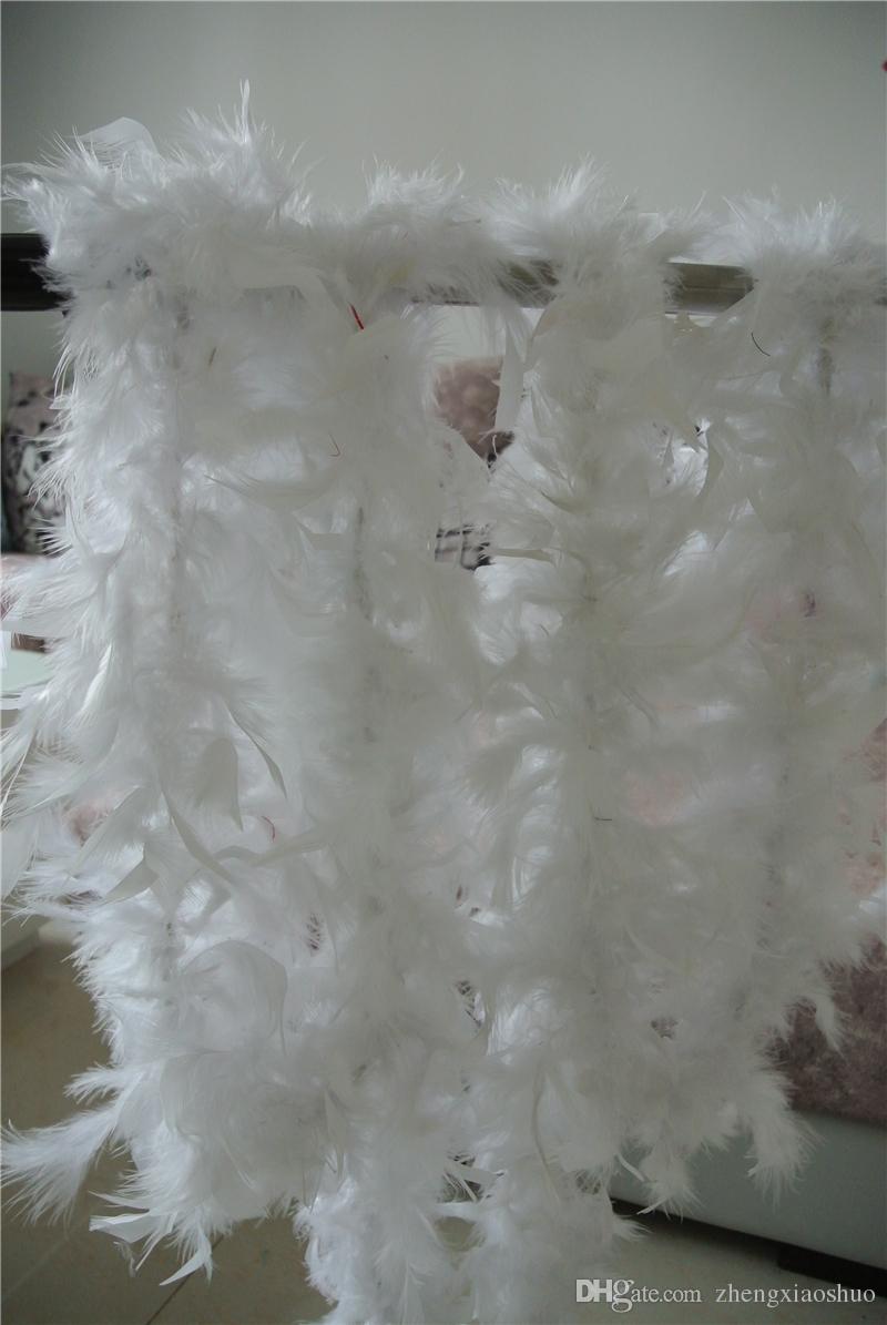 Бесплатная доставка 1 шт. 200 см / шт. перо удава 80 г белый chandelle перо удава Белый Марабу перо удав для партии поставок