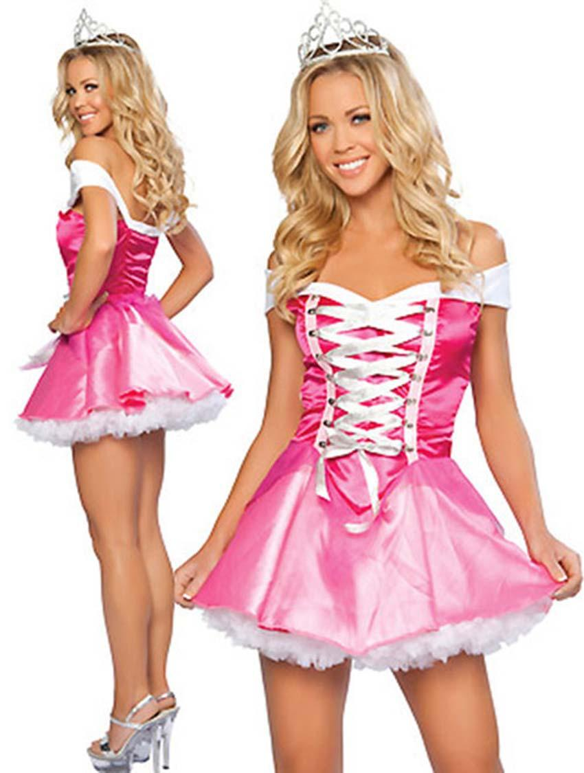 princess adults Pink dresses