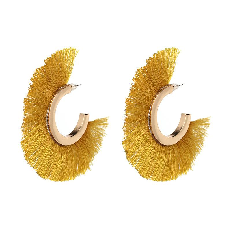 2018 Alphabet Beautiful Earring Designs For Women C Long Tassel ...