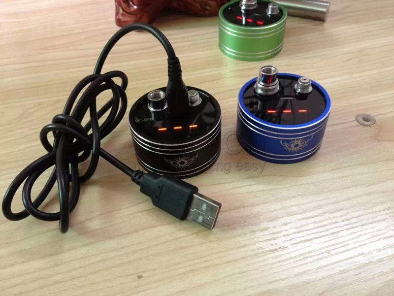 Medidor de resistencia del cigarrillo electrónico emetro digital de ohmios Medidor de ohmios medidor de ohmios Atomizador Probador de ohmios para 510 RBA RDA ego evod ce4 MT3