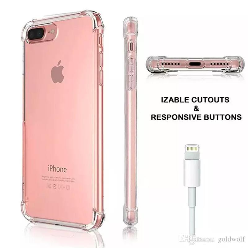 360 Fundas de protección corporal para iPhone XS MAX XR 7 8 6 S Fundas Plus Plus Fundas a prueba de golpes para Samsung S10 S9 Plus Nota9 Cubierta de TPU suave