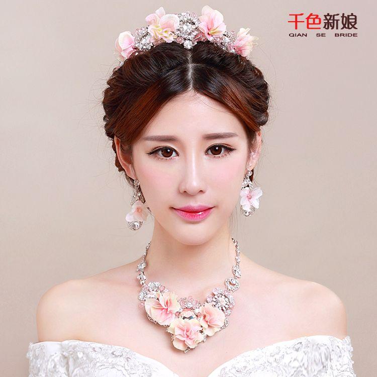 Wedding Hairstyle Korean: 2016 The New Bride Figure Prides Korean Brides Wedding