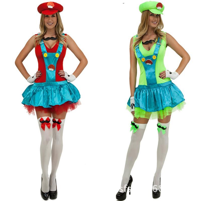 Best Mario Super Mario Rpg Sisters Halloween Costume Dress ...