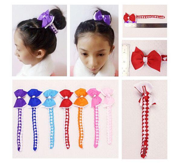 Hair Bun Wraps Boutique Hair Buns Bows Clips Head Wrap Hairband - Hairstyle bun with bow