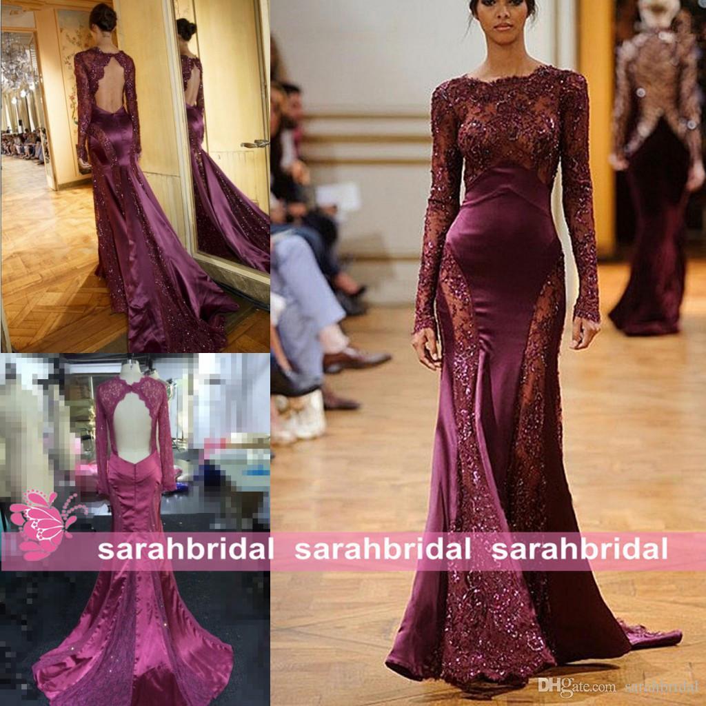 Evening dresses collection - Evening dress rent zuhair