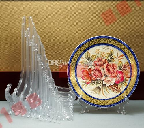 Cheap Wholesale 3-11 Inch Tall Clear Frosted Plastic Display Stand ...