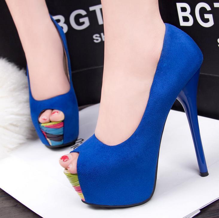 high heels shoes platform blue wwwpixsharkcom images