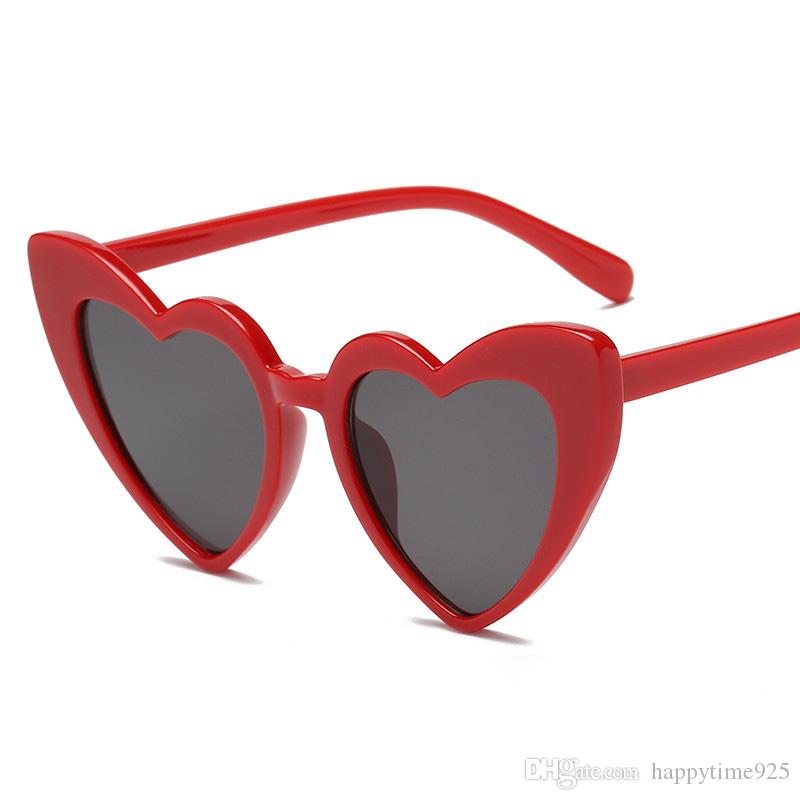 f088a9d341c Sun Glasses Personality Design Peach Heart Sunglasses Kids Adults Children  Women Men Love Heart Shaped Glasses For Beach F006 Cheap Designer  Sunglasses ...