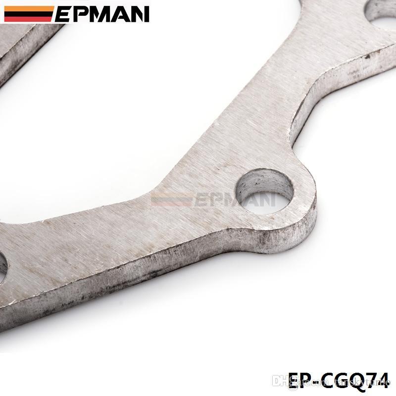 EPMAN - High Quality For TD04 Subaru Turbo Turbine to Dump pipe Flange 9mm stainless steel stock EP-CGQ74