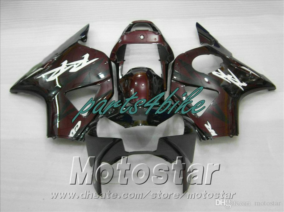 Injection molding fairing kit for Honda CBR900 RR fairings 954 02 03 CBR 954RR bodywork CBR900RR 2002 2003 red black fairings HS5