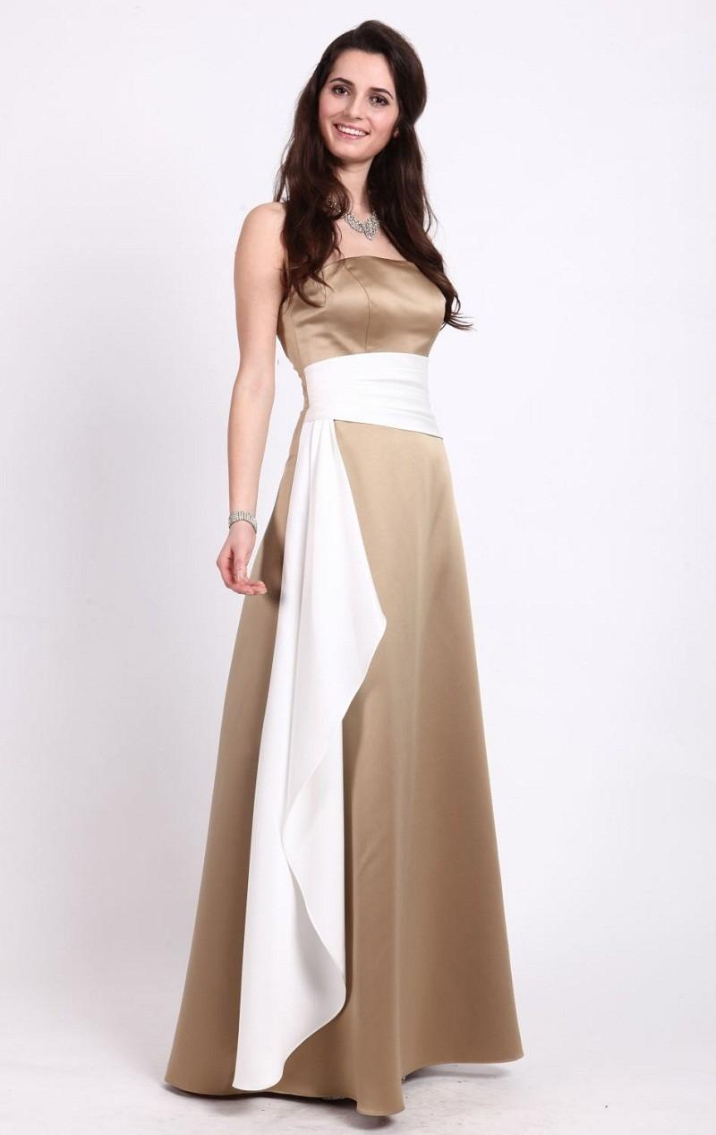 Long gold white junior bridesmaid bresses 2015 cheap strapless see larger image ombrellifo Gallery