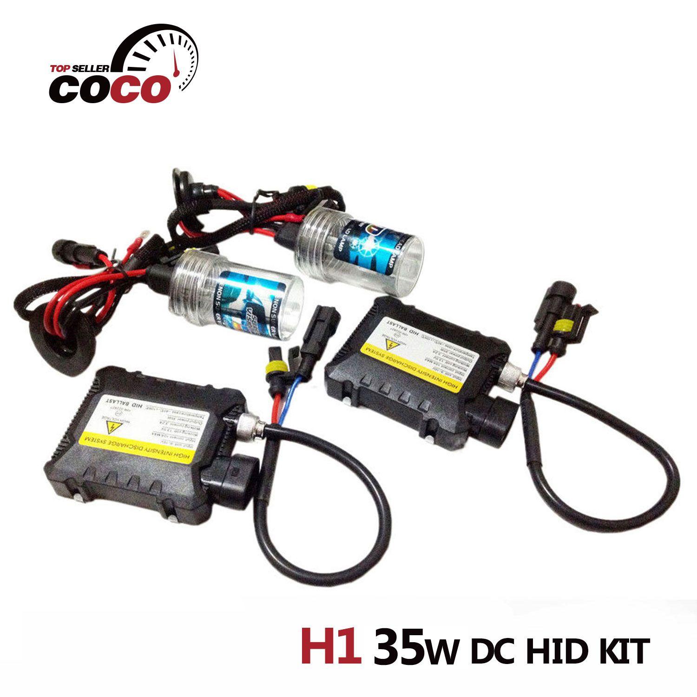 w Dc H1 Bulbs Slim Ballast Hid Xenon Hid Kit Conversion Kit