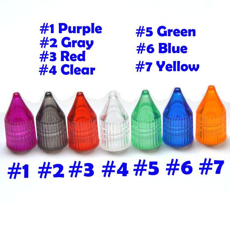 Atacado de alta qualidade 10 ml Garrafa PE Pen Estilo Multicolor Cap Dropper E Liquid Bottle frete grátis