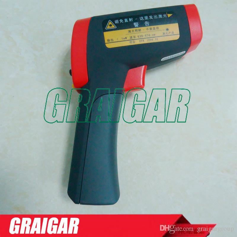 -32 ° C ~ 450 ° C Termómetros infrarrojos de mano profesionales UNI-T UT302A Medidor de temperatura industrial Pistola para termómetro infrarrojo digital sin contrato