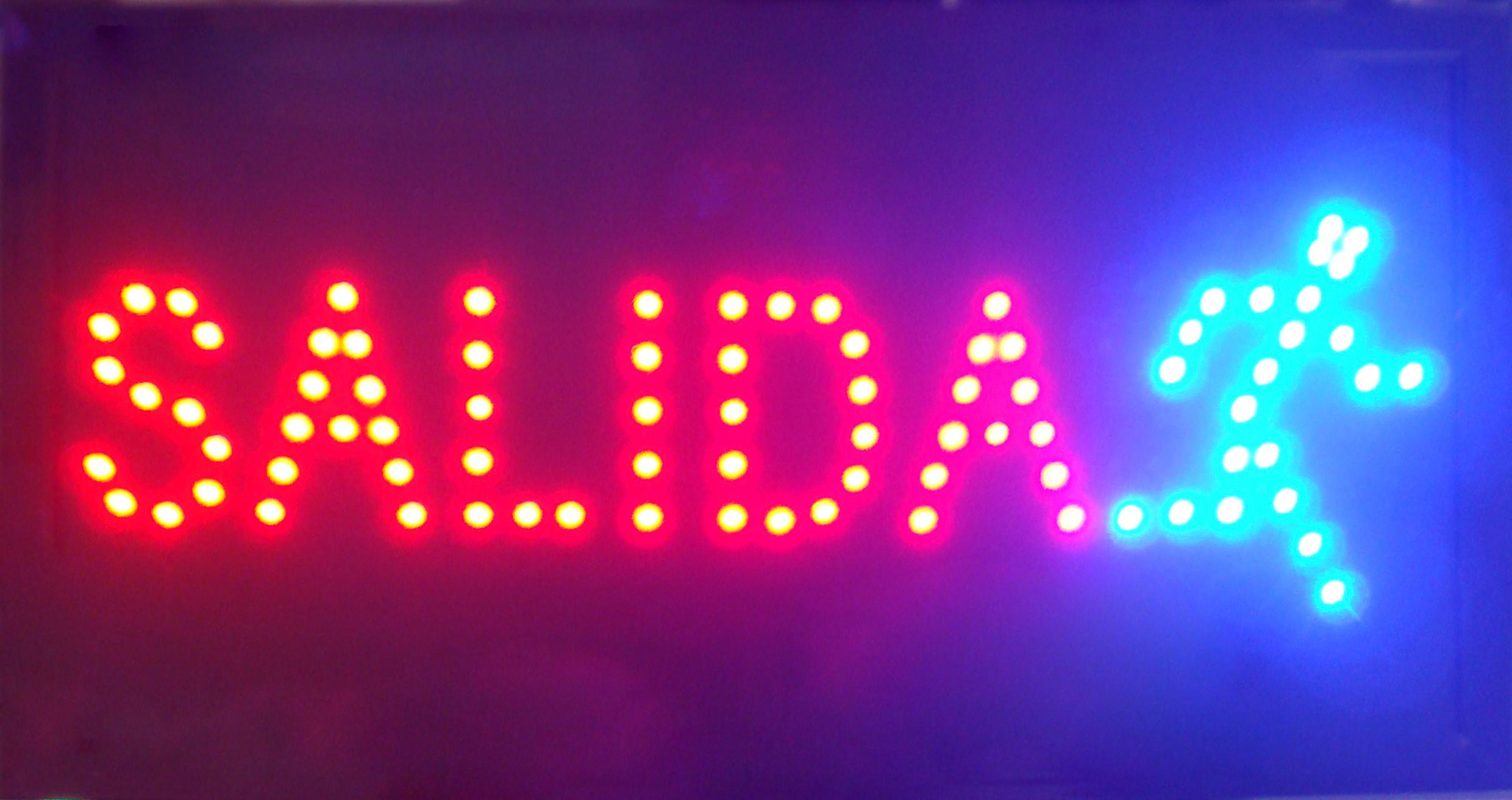 2018 spanish words customized led salida neon signs eye catching 2018 spanish words customized led salida neon signs eye catching slogans neon lights red word semi outdoor from taotao1818 1639 dhgate workwithnaturefo