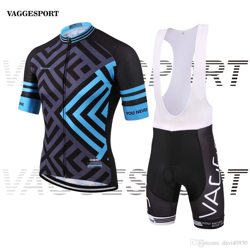 Blue Outdoor Professional Cycling Wear Jersey men Breathable Cycle ... 795e1c3a2