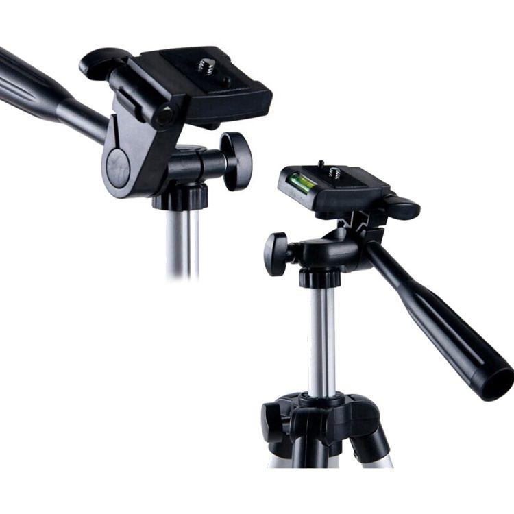 WT-3110A Tragbare Leichte Telefon Kamera Stativ Kugelkopf Halter Mit Tragetasche Für Canon Nikon Sony DSLR Kamera DV