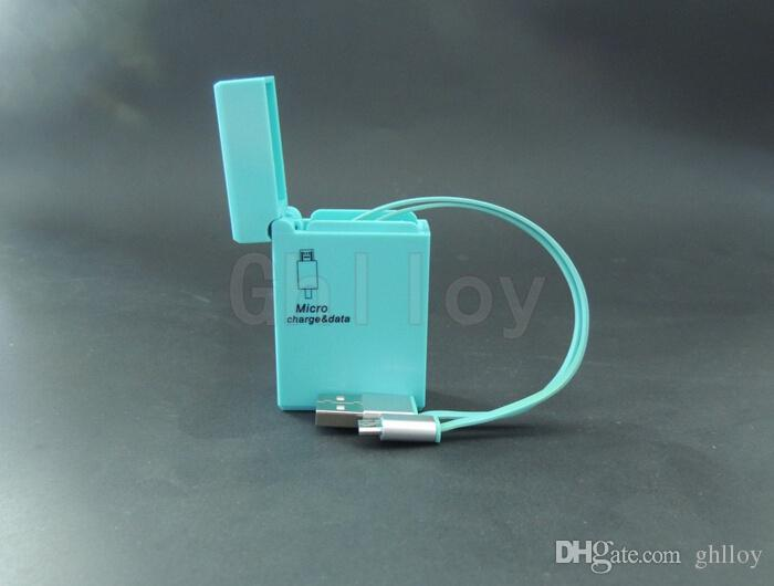 Cable más ligero más nuevo de alta calidad Línea de datos más ligera, cable con encendedor de cigarrillos Cable micro USB para teléfono Samsung y Android hasta