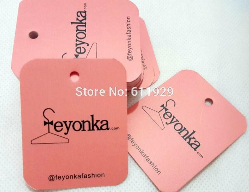 Online Cheap A Customized Paper Hang Tag/Clothing Swing Tag Labels ...