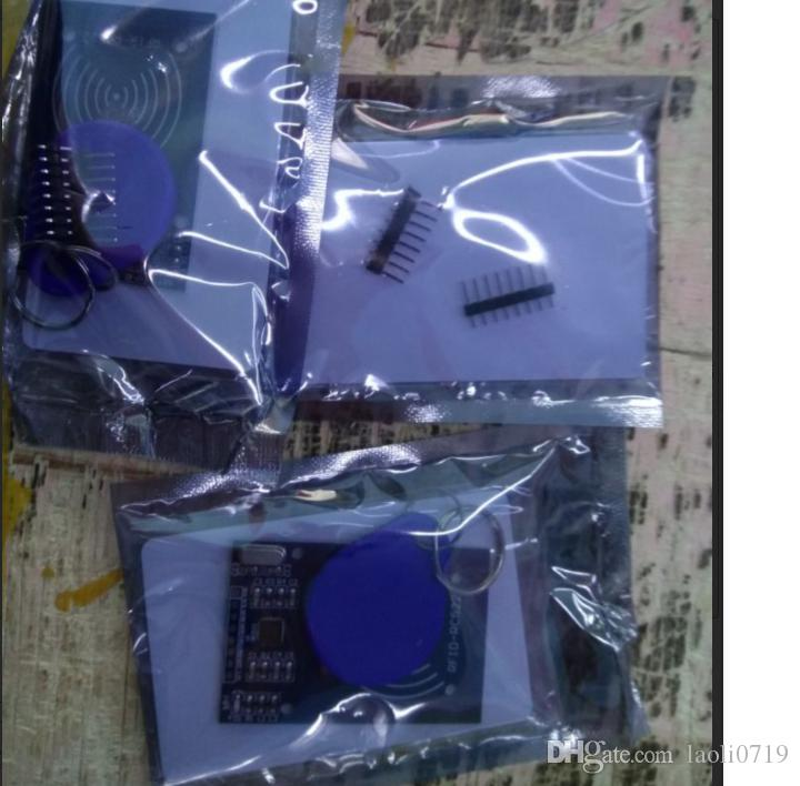 MFRC-522 RC-522 RC522 RFID Wireless IC Module S50 Fudan SPI Writer Reader Card Key Chain Sensor Kits 13.56Mhz