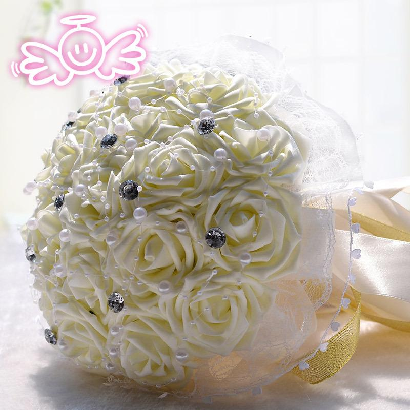 18 Off White Bridal Bouquets Cartoon Bouquet Flower Wedding Gift Gifts Wholesale Agents D194 Decor Decoration Ideas From Yiyu Hg