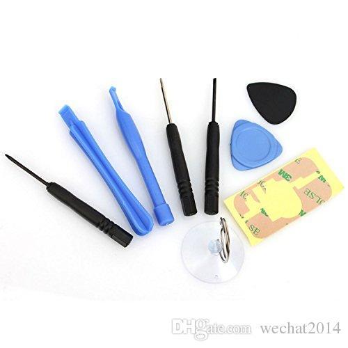 9 в 1 Ремонт Открытие монтировку Ручной инструмент Kit Набор для iPhone 4 4s 5 5s 6 Plus бесплатно DHL