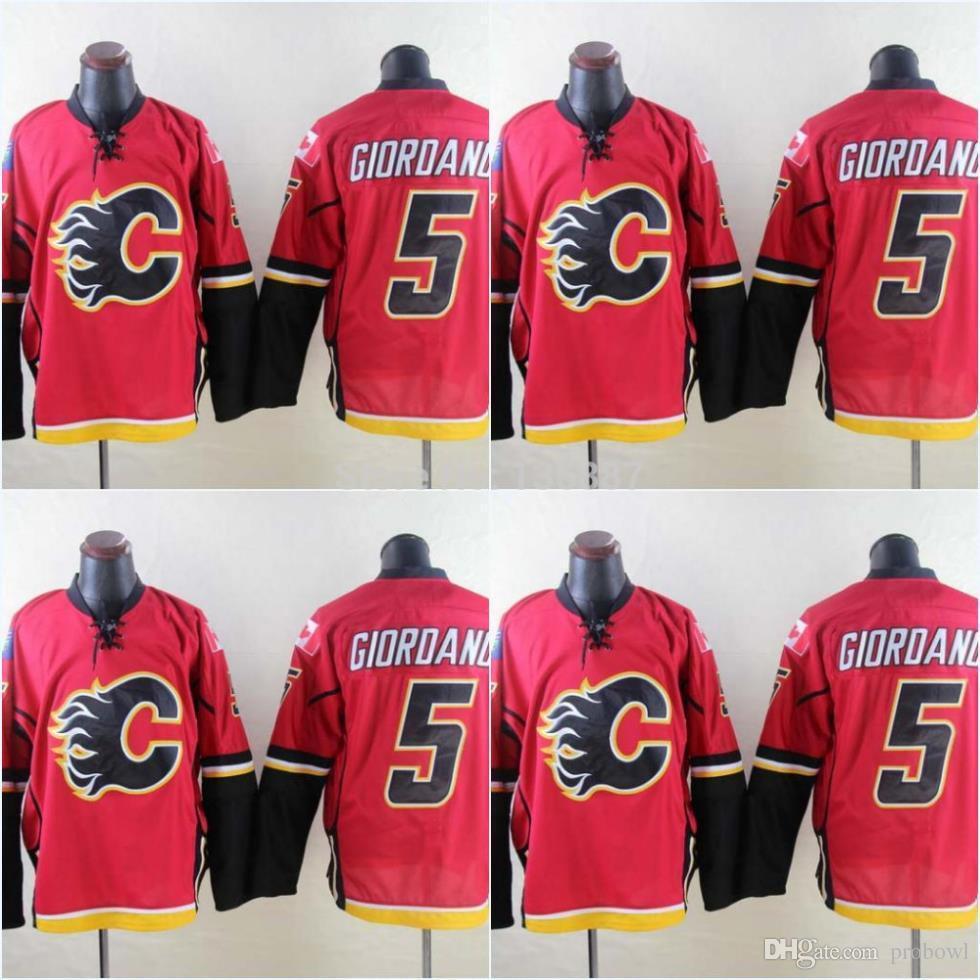 a9446267c1b Cheap Calgary Flames #5 Mark Giordano,Authentic ICE Hockey Jerseys ...