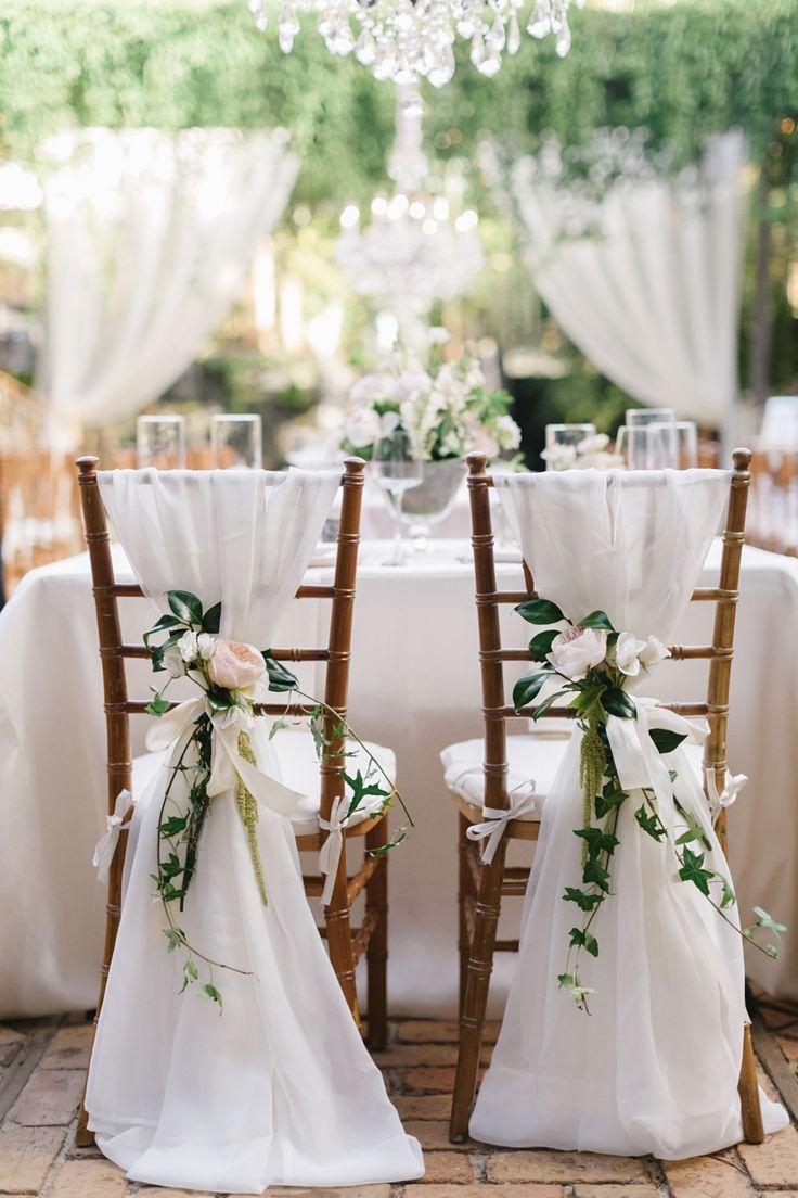 2018 White Chair Sashes Matrimoni 30D Chiffon 200 * 65 cm Coprisedie sedie da sposa Chiavari Telai sedie Stile DIY