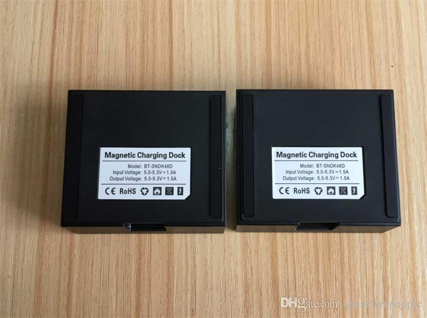 Perakende Kutusu ile Sony Xperia Z3 / Z3 Kompakt Manyetik Şarj dock Şarj Yuvası Siyah / Beyaz için /