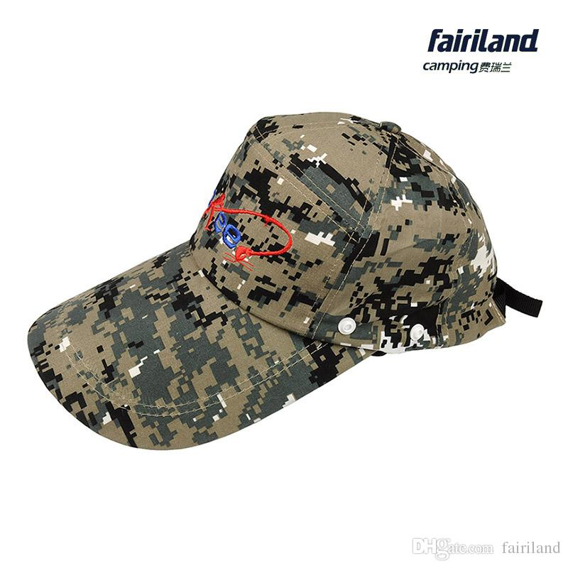UV Protection Fishing Cap Removable Protective Neck Cape Fishing Hat Hiking Hat  Camouflage Breathable Face Shield Unisex Jungle Cap Camouflage Fishing Hat  ... c52b4a92810e