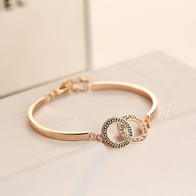 product elegant gold bangles jewellery bud store jewelry gifts for fashion women bracelet bracelets christmas crystal