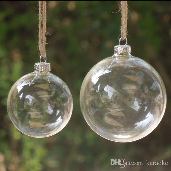 Christmas Tree Glass Balls Ornament Christmas Decoration 80mm