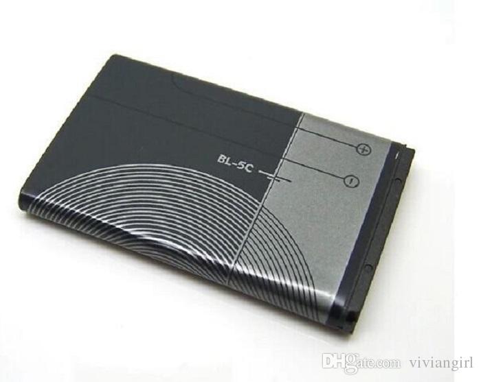 1020mAh بطارية BL5C BL 5C بطارية BL5C لنوكيا N70 N72 7610 6300 استبدال بطارية البطارية Bateria تسليم سريع 15 بلدا الحرة