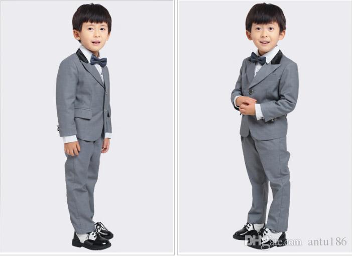 Spring and summer small boy suit children's leisure suit coat flower girl dress the baby suit jacket+pants Custom made