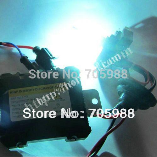 Universal Super Slim DC HID Motocicleta Xenon Ballast 12V 55W para carro HID Kit de conversão Lâmpada de substituição