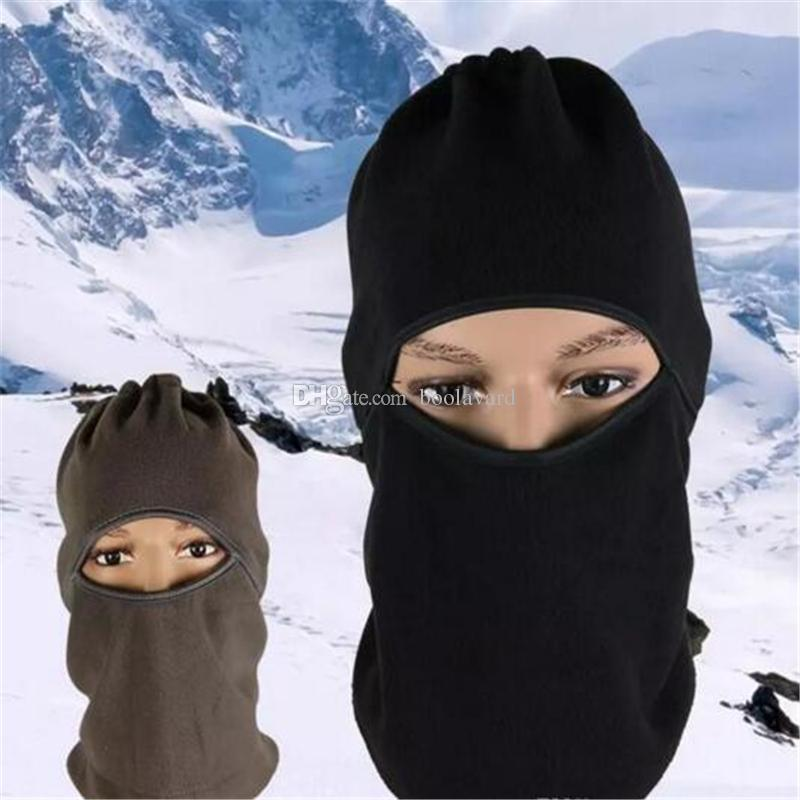 Outdoor Sports warm masks Windproof Cotton Milk Silk Full Face Neck Ninja Headgear Hat Riding Hiking Cycling Masks aa9-16 2017120301