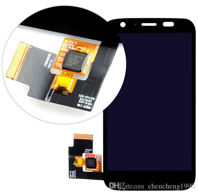 For Motorola Moto G LCD Display With Touch Screen Digitizer + LCD Bezel Frame Assembly for moto g xt1032 xt1033