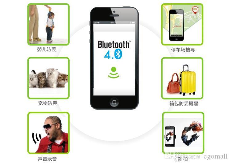 Smart Wireless Bluetooth 4.0 Anti verloren Alarm Tracker Key Finder für Haustiere Brieftaschen Kinder für iPhone für Samsung