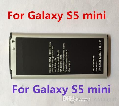 Batteria agli ioni di litio originale al 100% Samsung Galaxy s2 s3 s4 s5 s6 s7 s7 edge Batteria di ricambio mini s4 mini s5 mini s5 15 paesi gratis