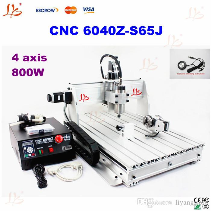 2019 Factory Price 800w 6040z S65j 4 Axis Cnc Milling Machine Cnc Router For Student Project And Hobby From Liyangstore 1859 3 Dhgate Com