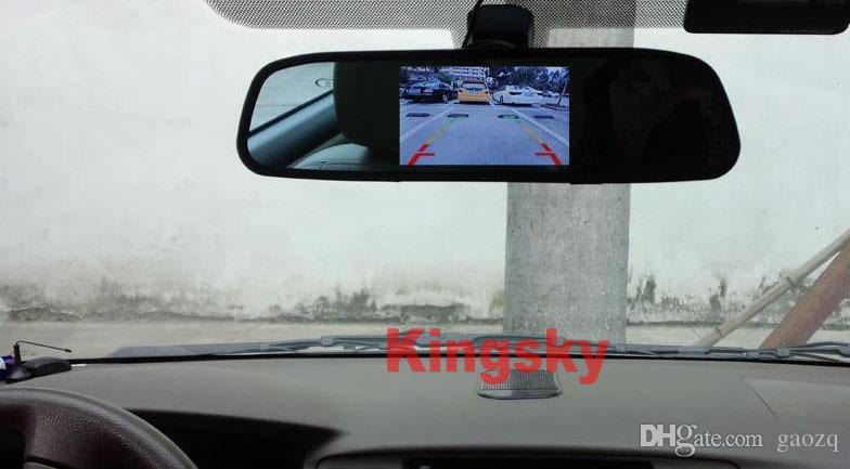 Kit de Visão Traseira Do Carro sem fio 4.3